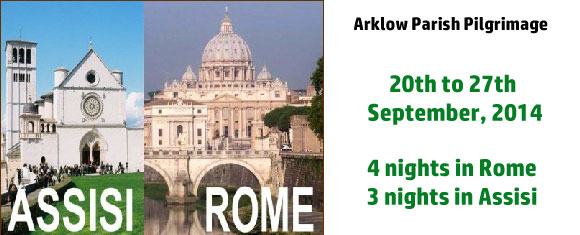 Arklow Parish Pilgrimage to Rome and Assisi