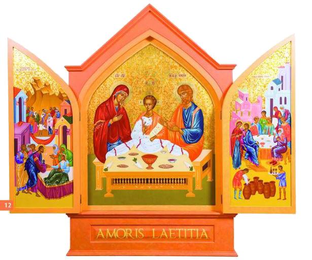 World meeting of families 2018 arklow parish arklow parish the wmof icon comes to arklow malvernweather Images